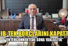 Photo of Taçoy: Kıb-Tek, tüm borçlarını kapattı ve artıya geçmeyi başardı