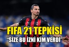 Photo of İbrahimovic'ten FIFA 21'e tepki: Size bu izni kim verdi