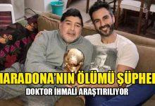 Photo of Diego Maradona'nın doktorunun evi ve kliniğinde arama yapıldı