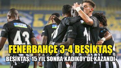 Photo of Beşiktaş, 15 yıl sonra Kadıköy'de kazandı